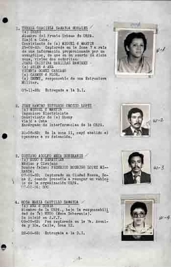 Military kept detailed lists of leftists, often for assassination