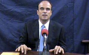 Lawyer Rodrigo Rosenberg before his slaying on May 10