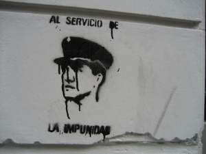 impunity mural