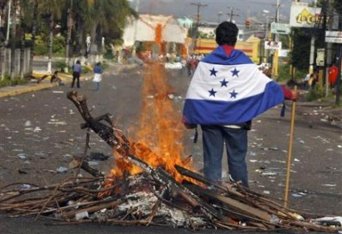 We, the golpistas of Honduras ask, who will clean up this mess?